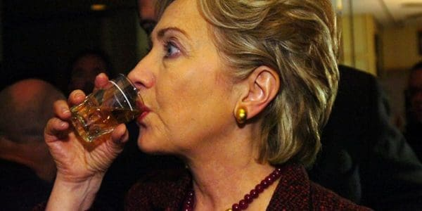 Top 10 Hillary Clinton Facts - She Can Hold Liquor