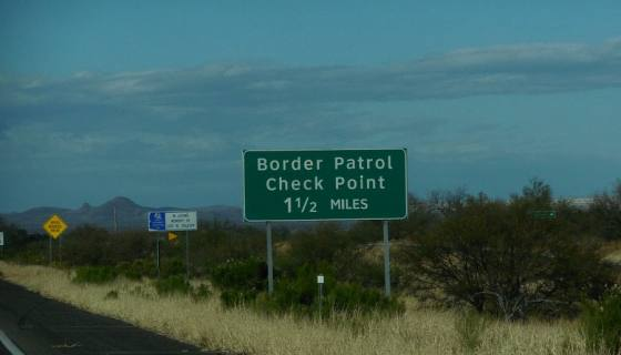 Border Patrol Check Point